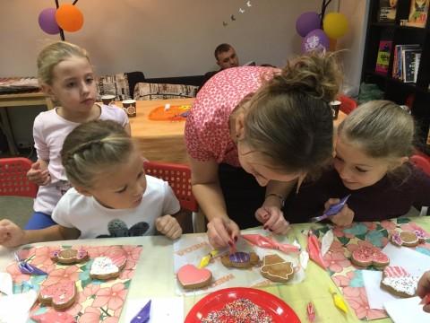 Мастер-класс по росписи имбирных пряников для детей