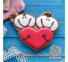 Пряник «Валентинка Милашки»