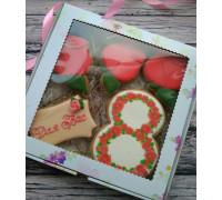 Набор пряников «Роза»