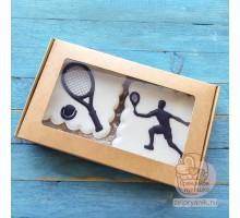 Набор пряников тренеру по теннису