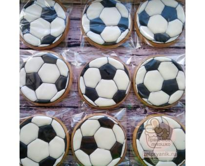 Пряник «Футбольный мяч»