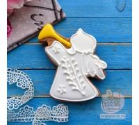 Пряник «Ангел №1 на крестины»