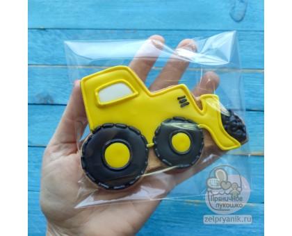 Пряник «Жёлтый трактор»
