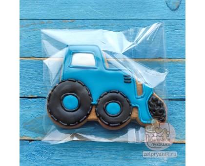 Пряник «Синий трактор»