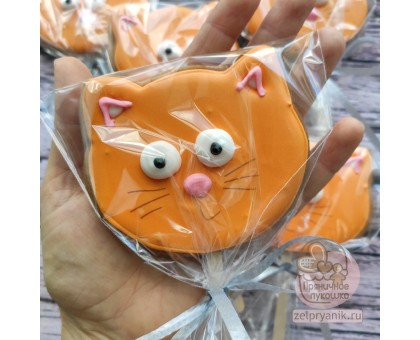 Пряник «Весёлый кот»