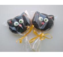Пряник на Хэллоуин «Чёрный кот»