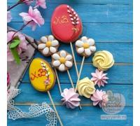 Набор пряников для украшения куличей «Пасхальное яйцо»