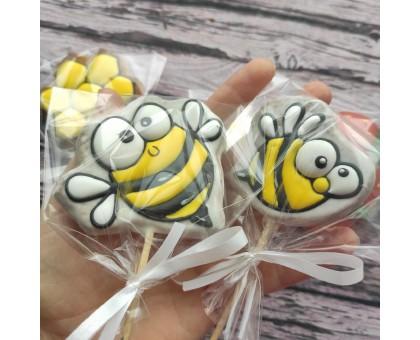 Пряничные топперы «Пчёлка»