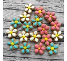 Пряничные топперы «Цветочки»