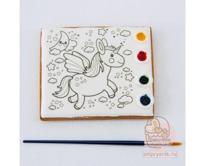 Раскраска «Единорог»