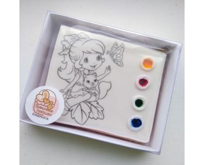 Раскраска «Фея»