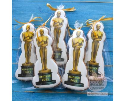 Пряник «Оскар на выпускной в школе»