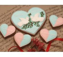Набор «Влюбленные голубки»