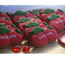 Пряник «Яблочки с датой»